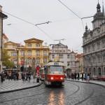路面電車プラハ